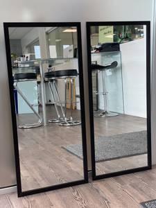 Bilde av Speil med sort ramme
